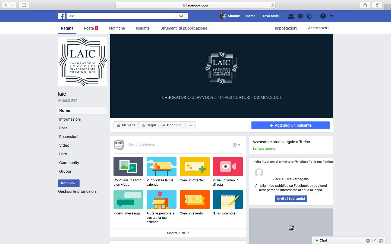 Pagina facebook laic for Societa italiana di criminologia